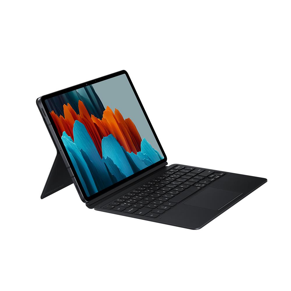 삼성전자 북커버 키보드 태블릿 케이스 EF-DT870, 블랙