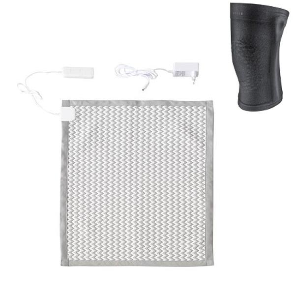 닥터스 탄소 카본 온열패드 블루투스 DH0020002 + 무릎보호대, 혼합색상, 중(700 x 485 x 5 mm)