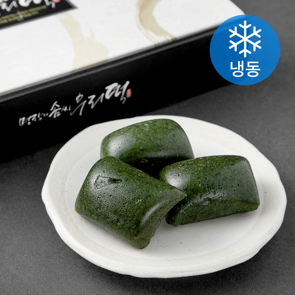 김재규우리떡연구소 제주 쑥인절미 (냉동), 70g, 25개