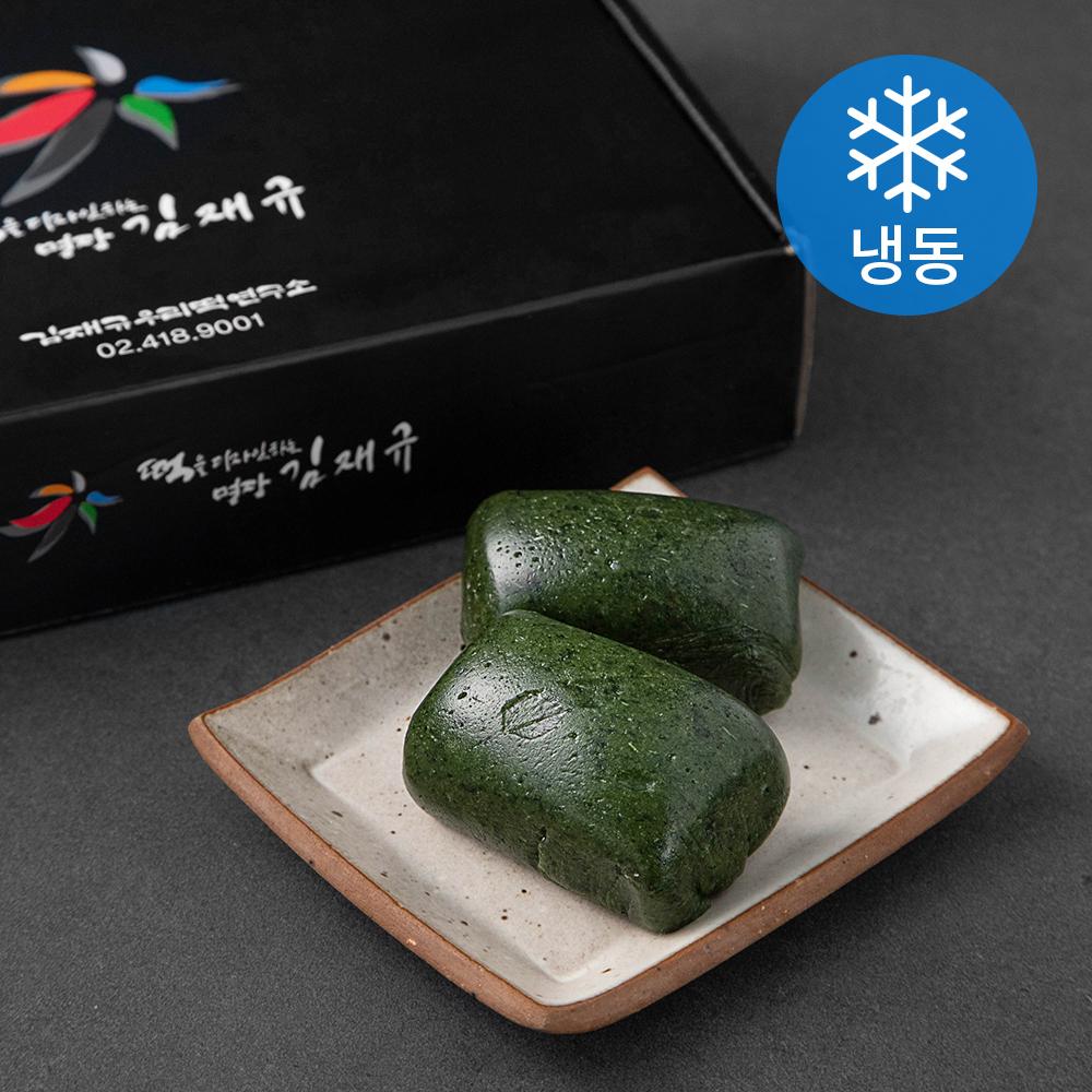 김재규우리떡연구소 제주 쑥인절미 (냉동)  70g  16개도깨비떡방 30년 명가 진도 해풍 쑥떡 쑥인절미  쑥인절미 2kg (