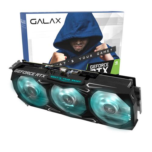 갤럭시 GALAX 지포스 RTX 3080 그래픽카드 SG D6X 10GB, 단일상품