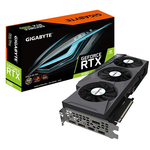 기가바이트 지포스 RTX 3080 그래픽카드 EAGLE OC D6X 10GB, 단일상품