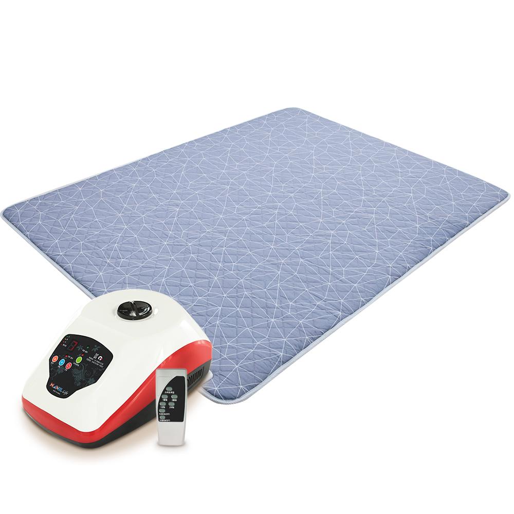한일생활건강 리모컨 온수매트 그레이 HL-0022, 더블(150 x 200 cm)