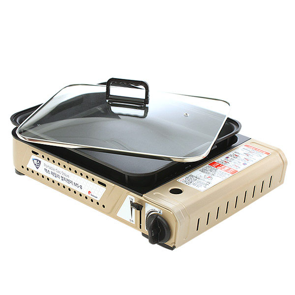 맥스 패밀리 멀티렌지 + 전용 그릴팬 세트 MS-8, 1세트