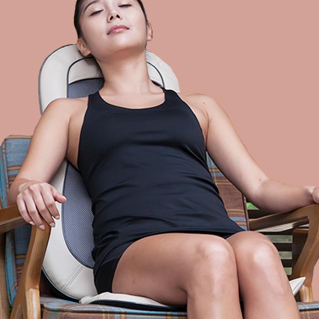 허브결 컴포트 의자형 안마기, CHY-302, 혼합색상