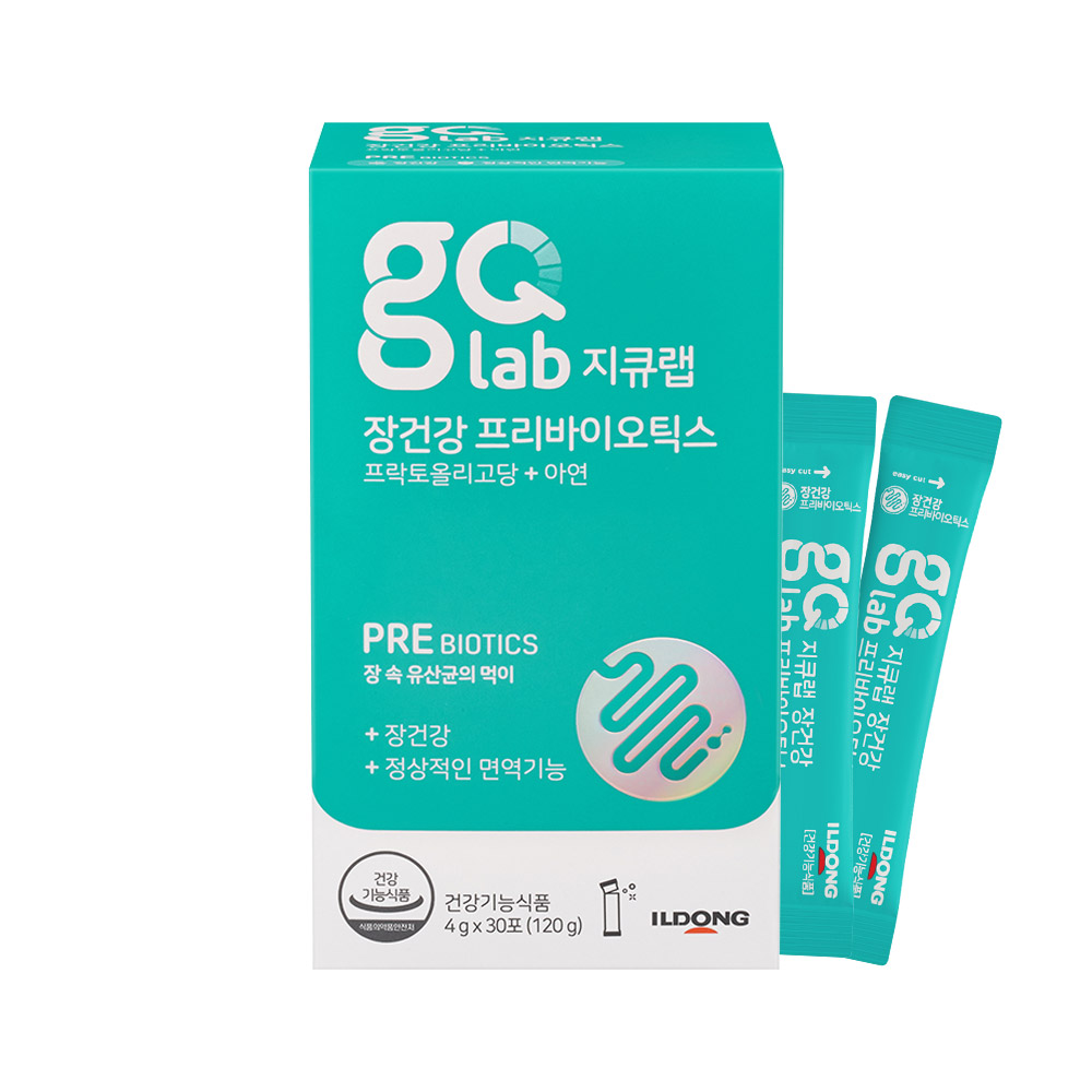지큐랩 장건강 프리바이오틱스, 4g, 30개