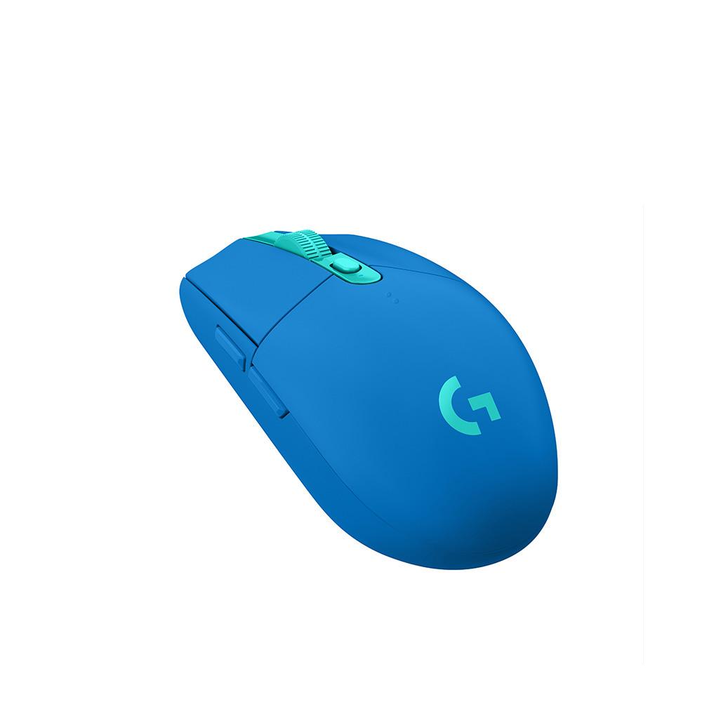 로지텍 G304 LIGHTSPEED 무선 게이밍 마우스 M-R0071, 블루