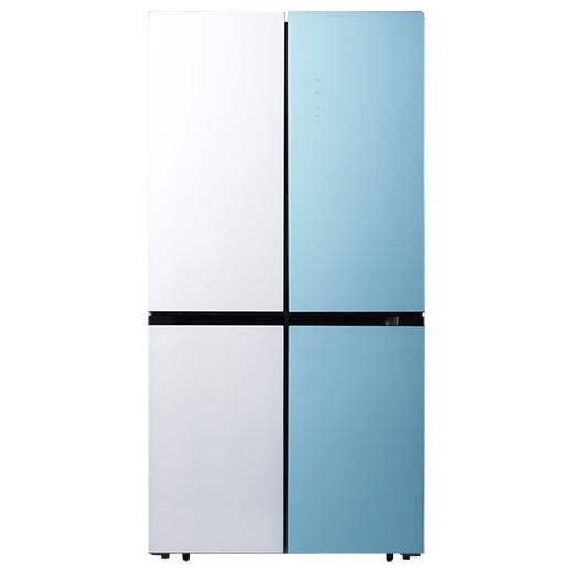 캐리어 클라윈드 파스텔 4도어 냉장고 CRFS-N566WMFR 566L 방문설치