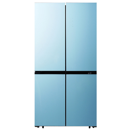캐리어 클라윈드 파스텔 4도어 냉장고 CRFS-N566MFR 566L 방문설치