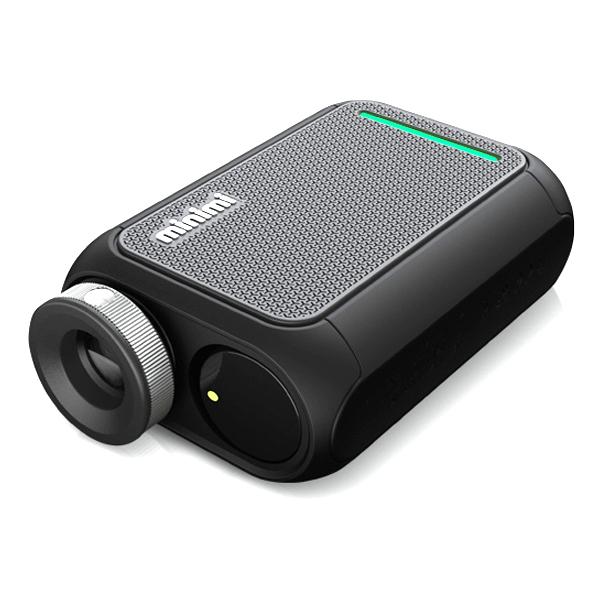 캐디톡 미니미 레이저 골프거리측정기, 리치블랙
