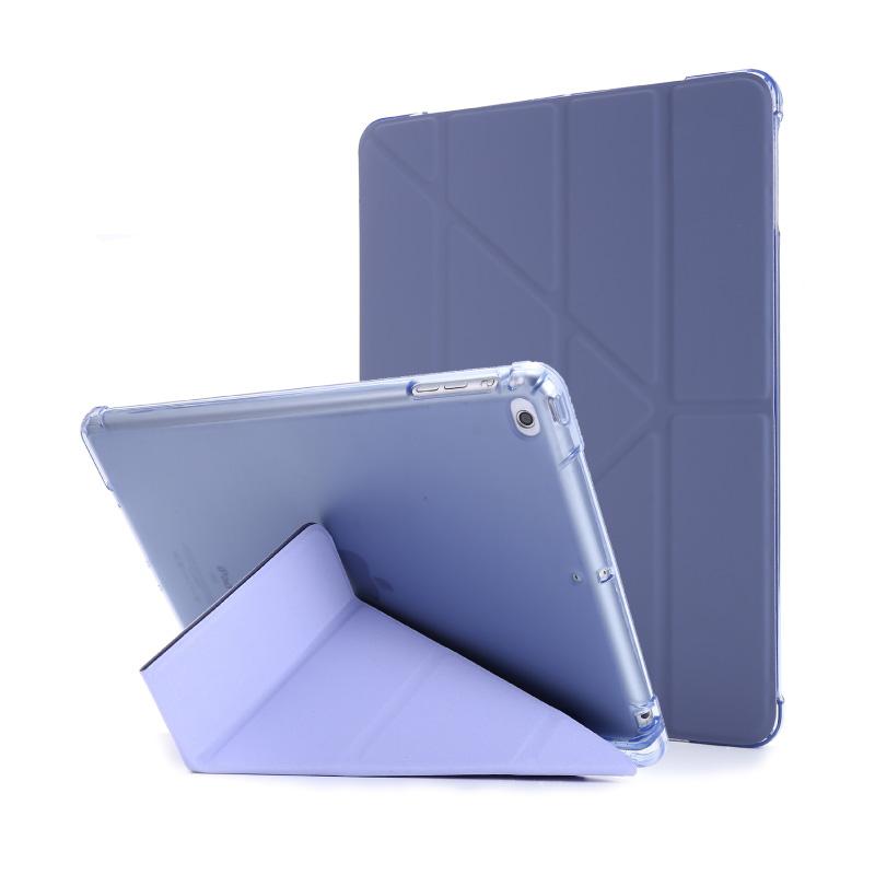 오펜트 애플펜슬 수납홀더 스마트커버 Y형 태블릿PC 케이스, 라벤더