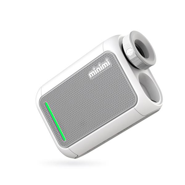 캐디톡 미니미 레이저 골프거리측정기, 퓨어화이트
