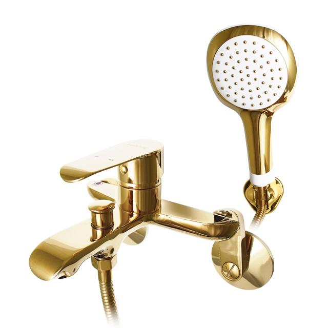 골드 욕조 샤워기 수전세트 KJ-4001, 1세트