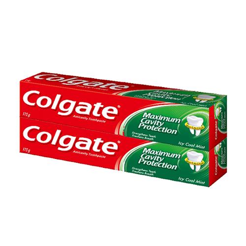콜게이트 아이씨 쿨민트 치약, 175g, 2개