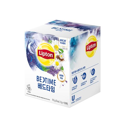 립톤 허브티 웰니스 베드타임 15티백, 19.5g, 1개