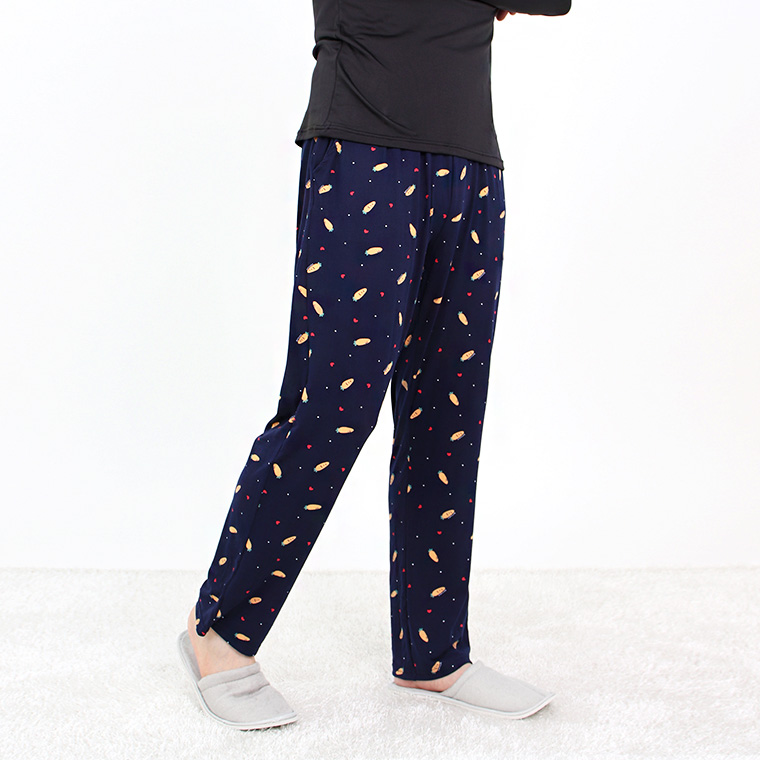 JBFX 남성용 피치기모 패턴 잠옷 바지