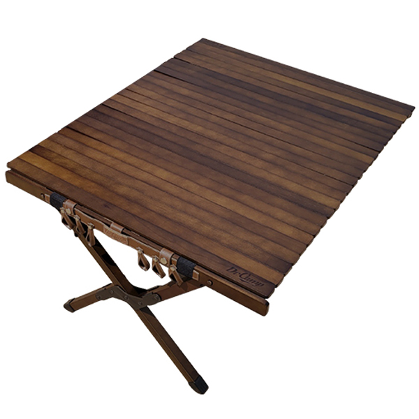 닥터캠프 우드 롤 테이블 900, 혼합색상