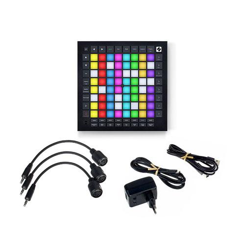 노베이션 64패드 컨트롤러 + 오푸스 유선이어폰 세트, LaunchPad Pro Mk3, OP 2W, 혼합색상
