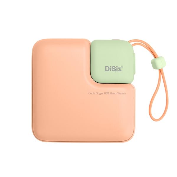 디씨즈 USB 충전식 손난로, DHW-2021, 밀크오렌지