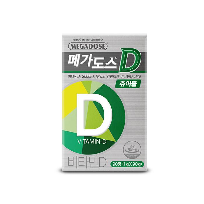 고려은단 메가도스D 비타민, 90정, 1개