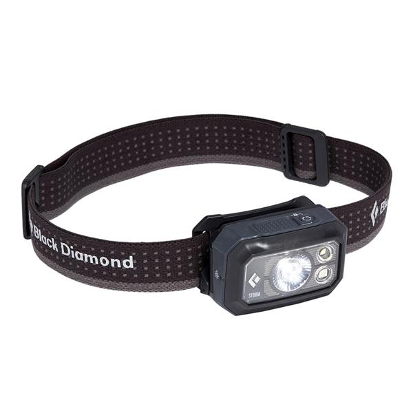 블랙다이아몬드 스톰 헤드램프 400, Graphite, 1개