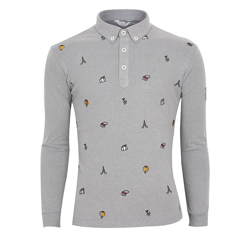 그렌에코 남성용 골프 티셔츠 GES9509