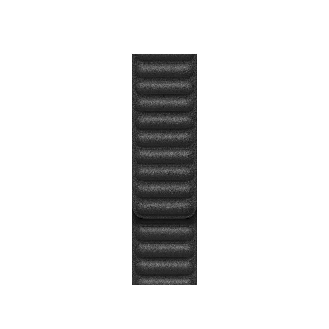 Apple 애플워치 3/6/SE Leather Link 밴드 Small (38/40mm 호환 가능), Black(MY9A2FE/A), 1개