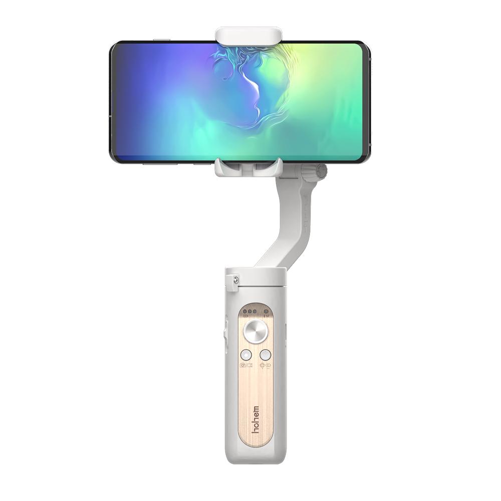 [스마트폰 짐벌] 넥스트 초경량 미니 3축 짐벌 셀카봉, NEXT-X1 MINI(아이보리 화이트) - 랭킹4위 (78860원)