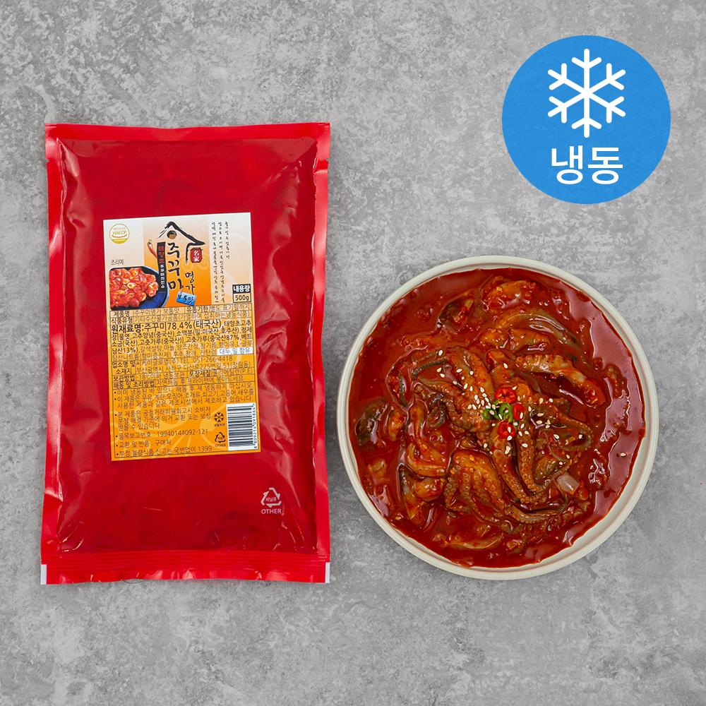 주꾸미명가 보통맛 (냉동), 500g, 1팩
