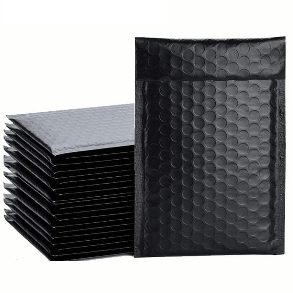 뽁순이 에어캡 안전봉투 블랙 PE, 150개