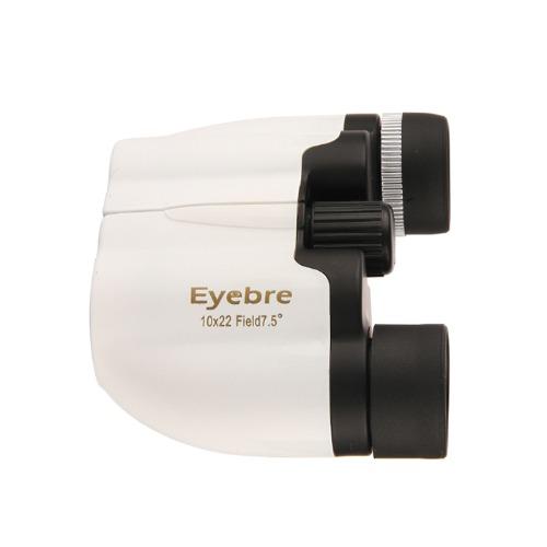 eyebre 오페라 글라스 쌍안경 화이트, 10배, 1개