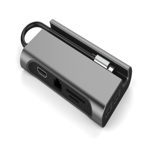 마이크로닉스 USB Type C 8 in 1 멀티포트 OT709, 혼합색상