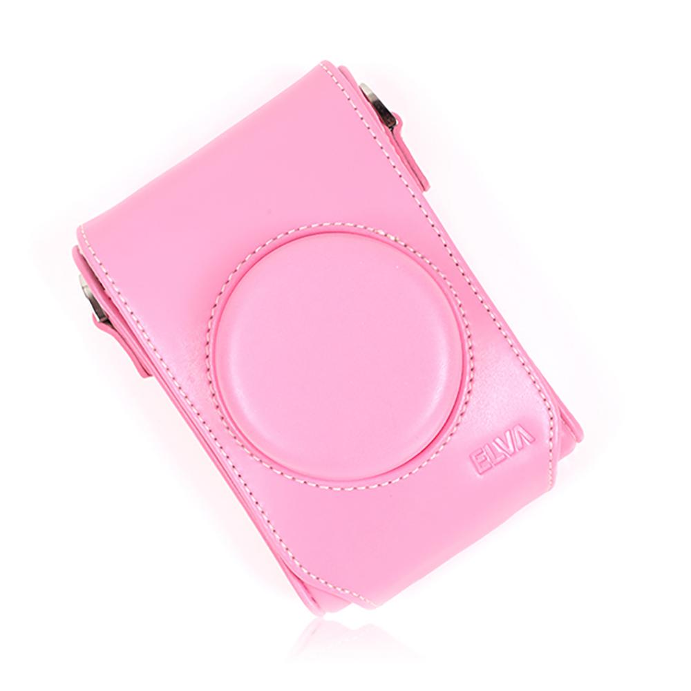 엘바 리코 GR2 전용 루나2 카메라 케이스, 핑크, 1개