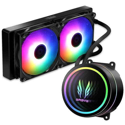 쓰리알시스템 SOCOOOL INT 240 RGB 수냉쿨러