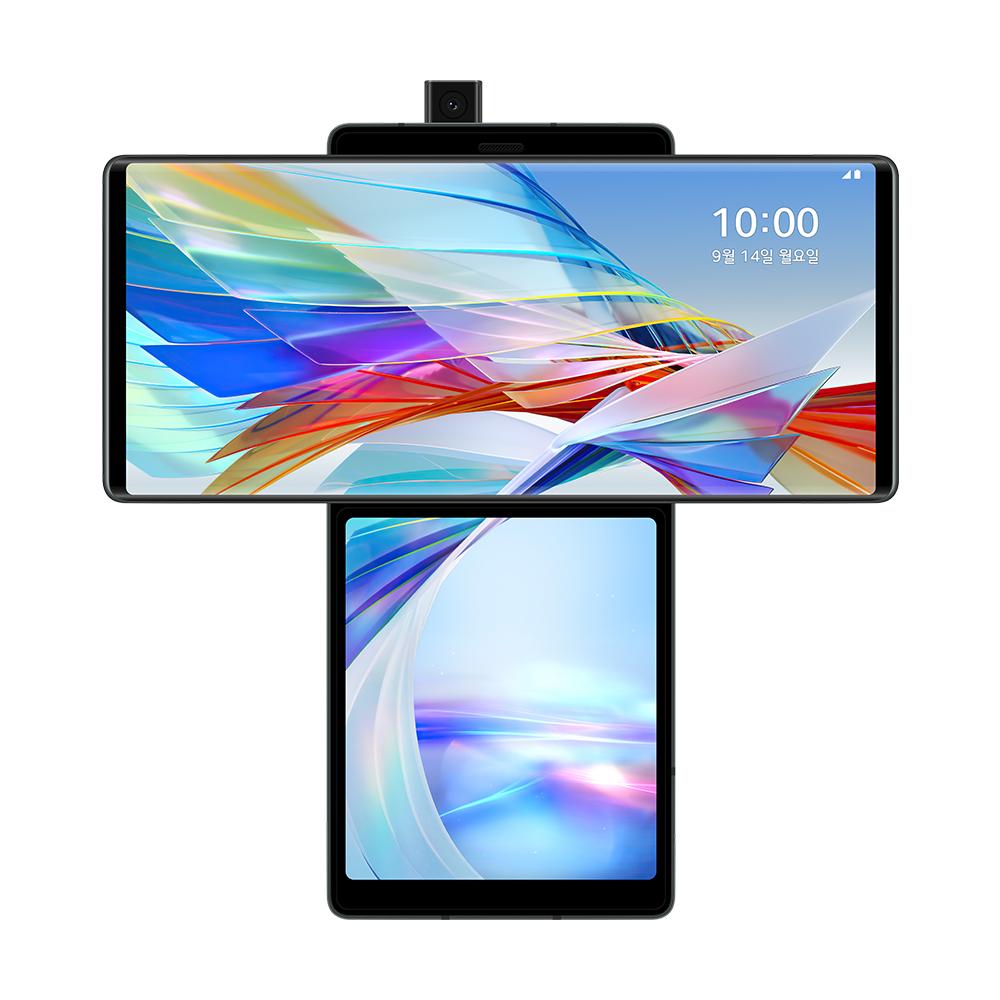 LG전자 Wing 5G 스위블 스마트폰, 오로라 그레이, 128GB