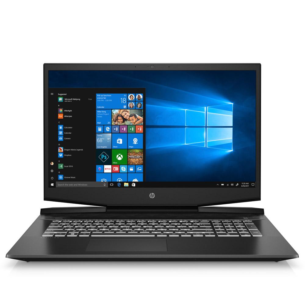 HP 파빌리온 게이밍 노트북 17-cd1021TX (i7-10750H 43.9cm RTX2060 WIN10 Home), 윈도우 포함, 512GB, 16GB