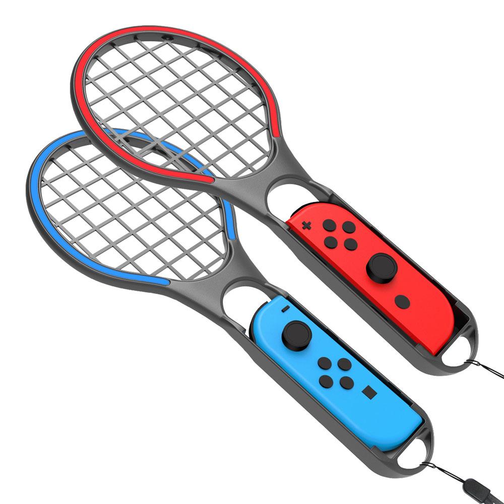 호후 닌텐도스위치 조이콘 테니스 라켓 블루 + 레드, 단일상품, 1세트