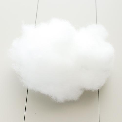 오즈펠트 구름솜 500g, 단일색상, 1개
