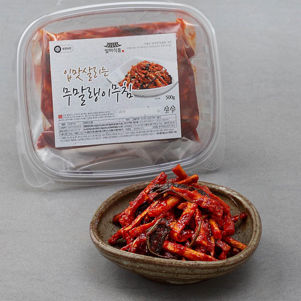 일미식품 입맛살리는 무말랭이 무침, 500g, 1개
