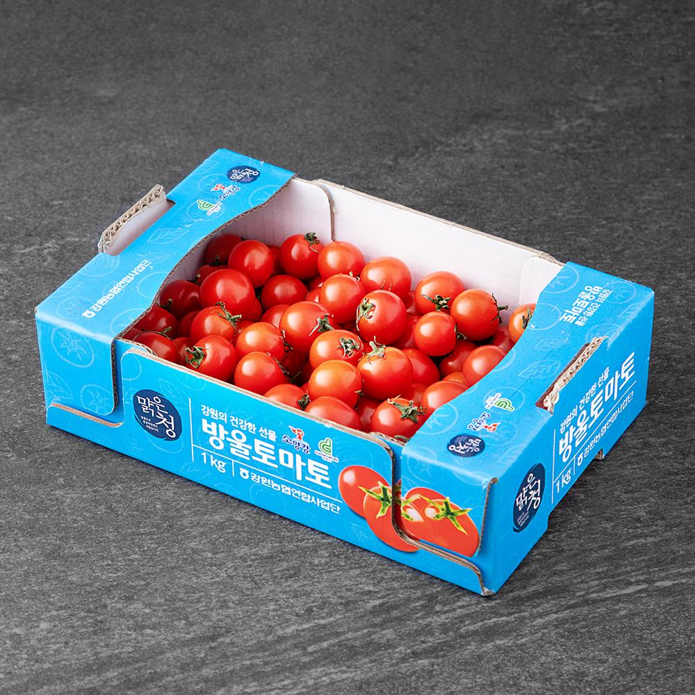 맑은청 GAP 인증 강원 방울토마토, 1kg, 1박스