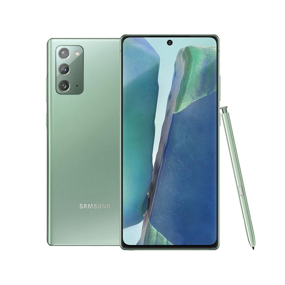 삼성전자 갤럭시 노트20 휴대폰, LG U+, 미스틱 그린, 256GB