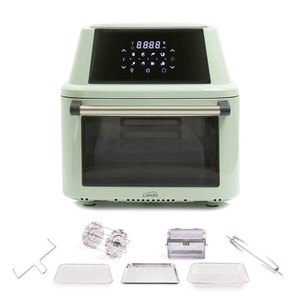 리하스 올스텐 오븐 에어프라이어 16L, KHD-16L, 피스타치오 그린 (POP 2155367541)