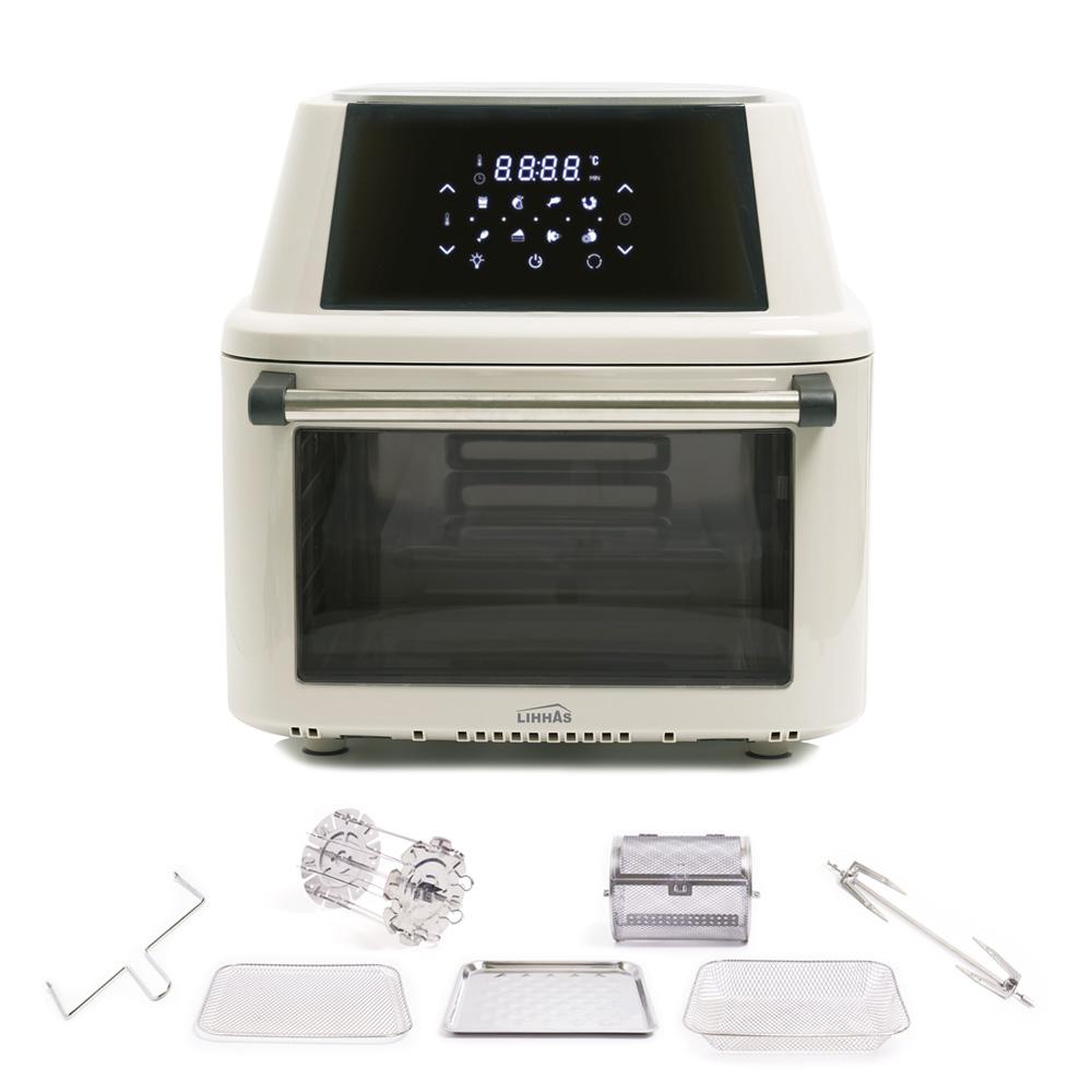 리하스 올스텐 오븐 에어프라이어 16L, KHD-16L, 머쉬룸 크림 (POP 2155367541)
