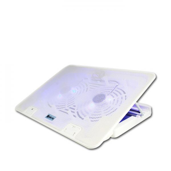 포엘지 노트북 쿨링 받침대 LGC-S1, 화이트