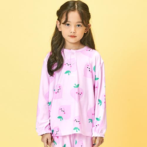 유니프랜드 아동용 피치 수면잠옷