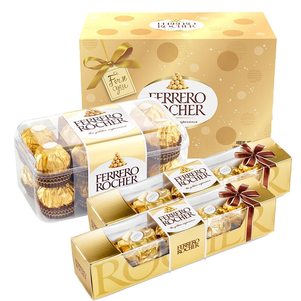 [식품] 페레로로쉐 초콜릿 16p 204g + 5p 62.5g x 2개 세트, 1세트 - 랭킹41위 (15400원)