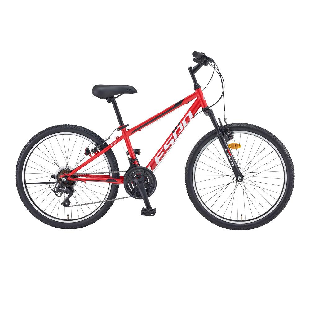 삼천리자전거 탑포스 SF 21단 자전거 60.96cm + 무료조립 쿠폰, 레드, 1590mm