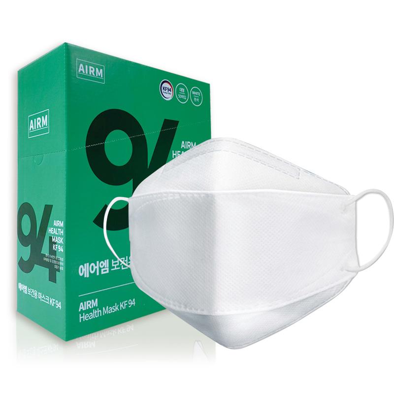 에어엠 보건용 마스크 대형 KF94, 50개입, 1개