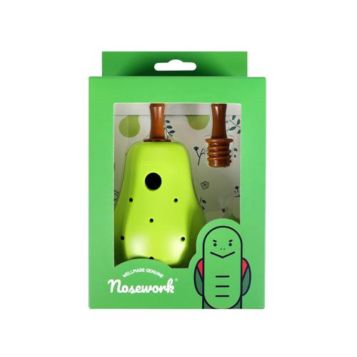 노즈워크 노즈볼 강아지 장난감, 배, 1개
