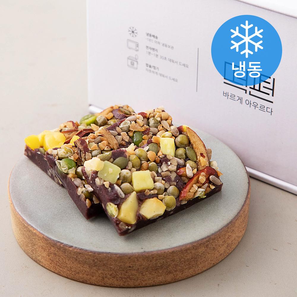 떡편 흑미영양찰떡 (냉동), 45g, 15개